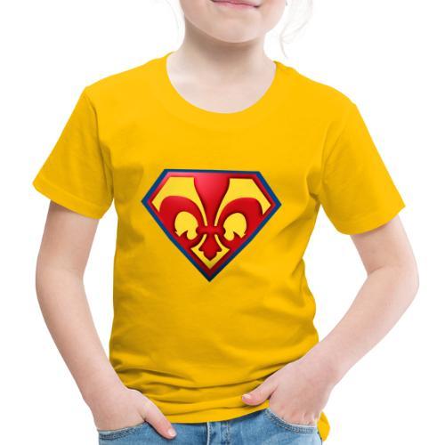 Fabulous Scout - Lilie im Wappen - Kinder Premium T-Shirt