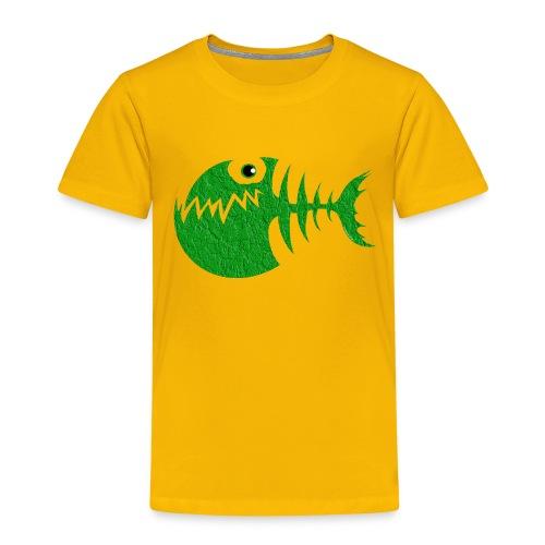 FISH BONE, Funny Sea Textiles, and Gifts for You - Lasten premium t-paita