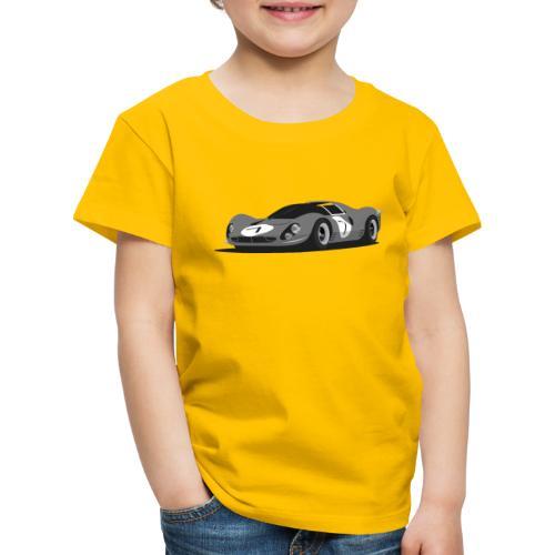 Illustration of an Icon - Kinder Premium T-Shirt