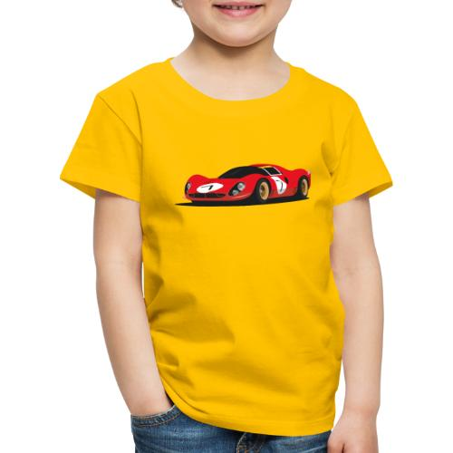 Illustration of a legend - Kinder Premium T-Shirt
