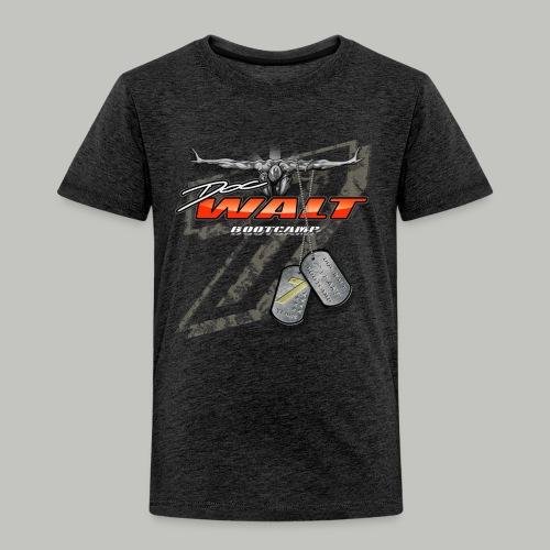 DOCw7years Logo - Kinder Premium T-Shirt