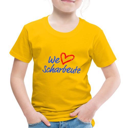 We love Scharbeutz - Logo blau/rot - Kinder Premium T-Shirt