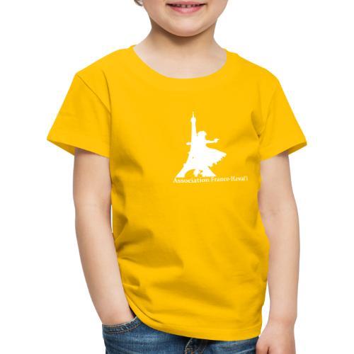 logo asso AFH 170312, blanc - T-shirt Premium Enfant
