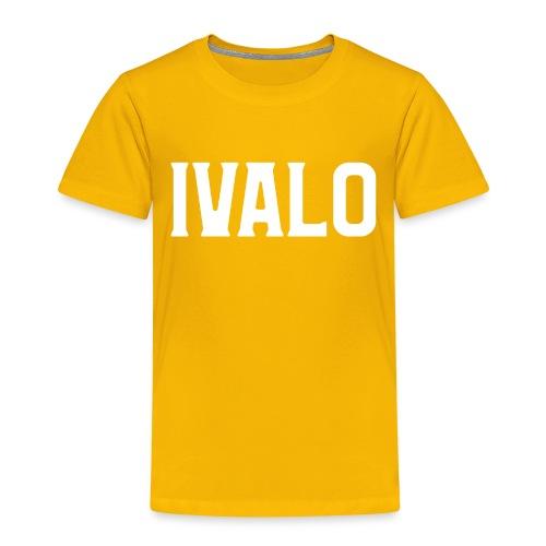 Ivalo - Lasten premium t-paita