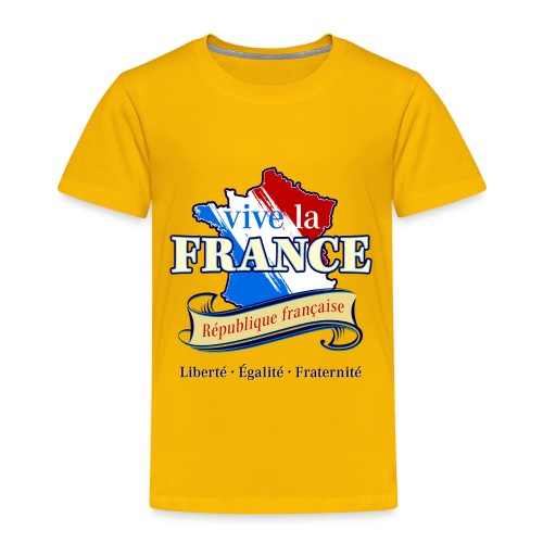 vive la France Frankreich République Française - Kids' Premium T-Shirt