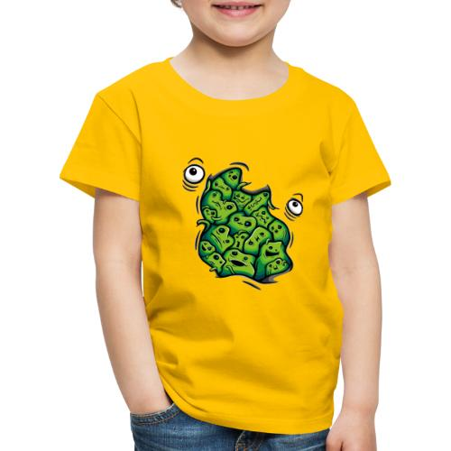 Getting Outside (green version) - Kids' Premium T-Shirt