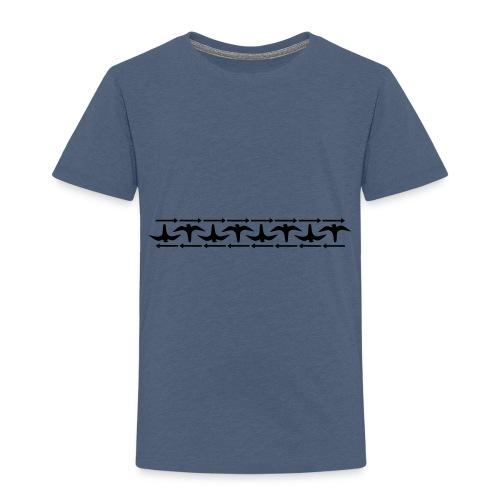 kasihaukka - Lasten premium t-paita