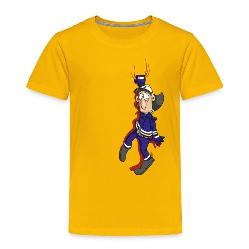 Hänger auf rotem Grund - Kinder Premium T-Shirt