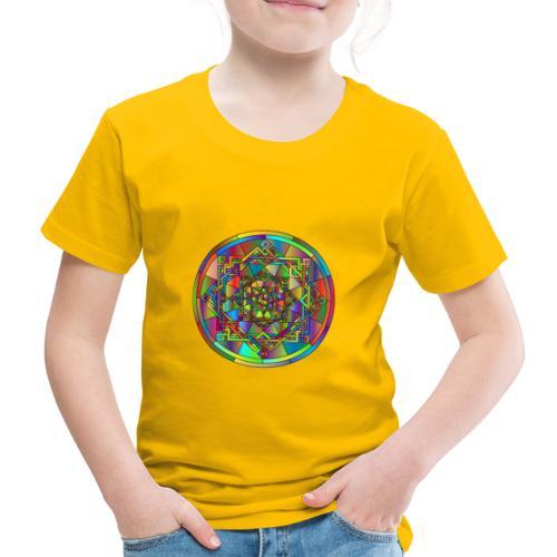 mandala et géométrie sacrée - T-shirt Premium Enfant