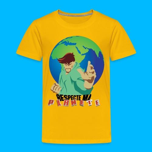 RESPECTE ma planète - T-shirt Premium Enfant