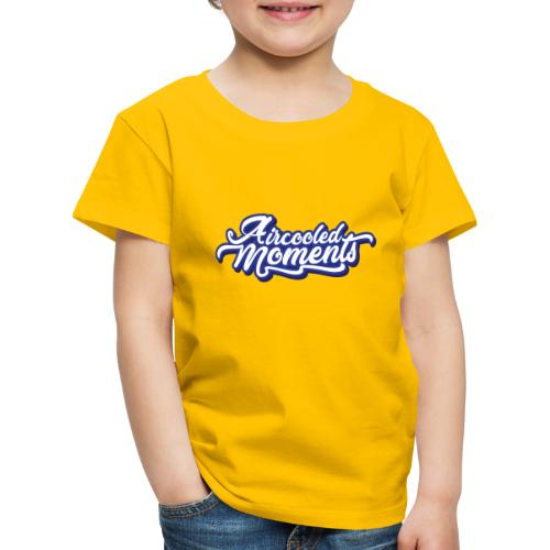 Aircooled Moments Script - Kids' Premium T-Shirt
