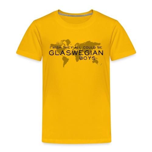 Glaswegian Boys - Kids' Premium T-Shirt