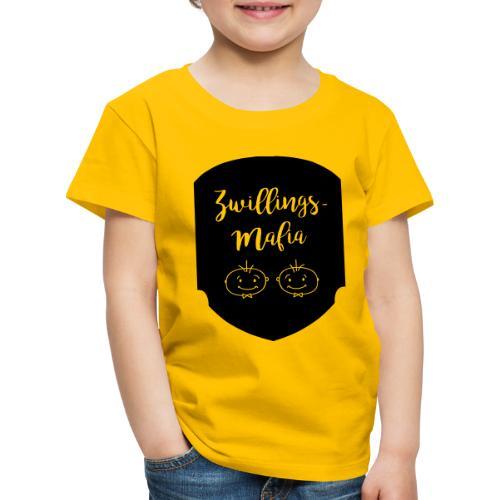 Zwillings-Mafia: Bub-Bub mit Hintergrund - Kinder Premium T-Shirt