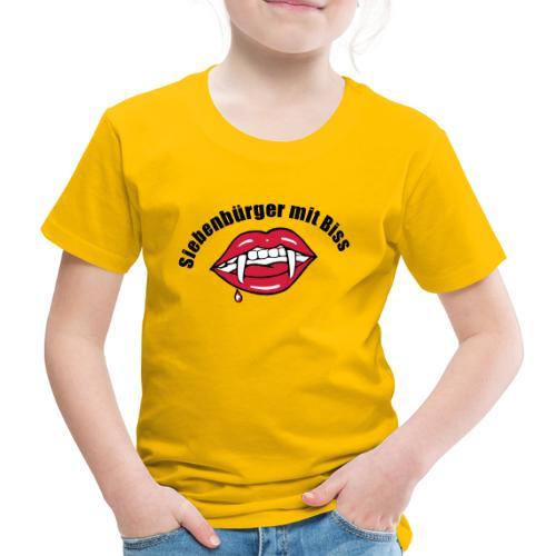 Siebenbuerger mit Biss - Dracula Transylvanien - Kinder Premium T-Shirt