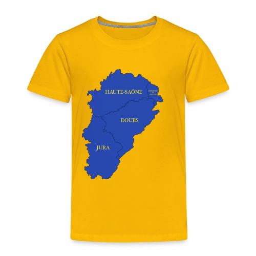 Franche-Comté + départements - T-shirt Premium Enfant