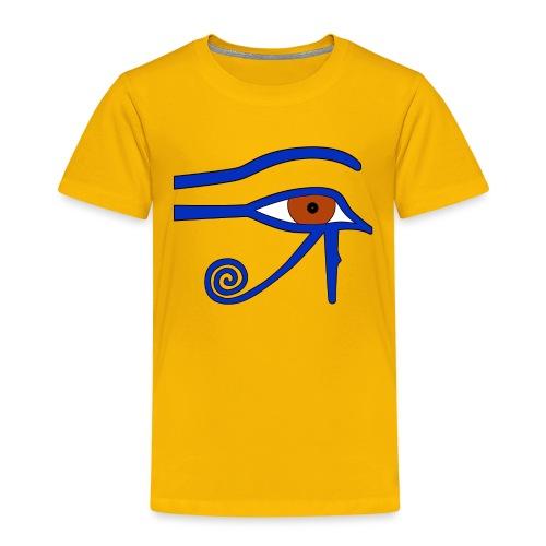 Ägyptisches Udjatauge - Kinder Premium T-Shirt