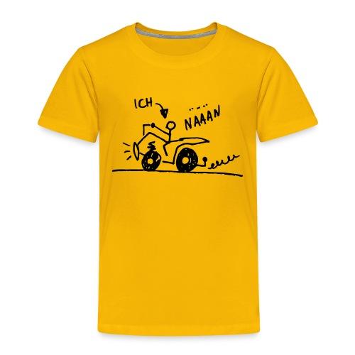 Quad näään - Kinder Premium T-Shirt
