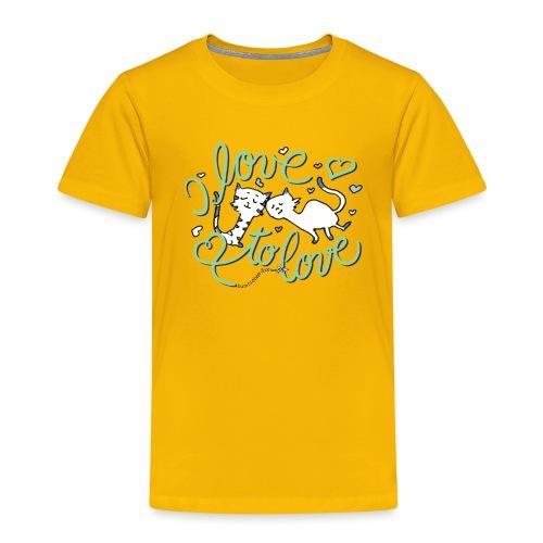 Belle & Balduin - komplett verschmust - Kinder Premium T-Shirt
