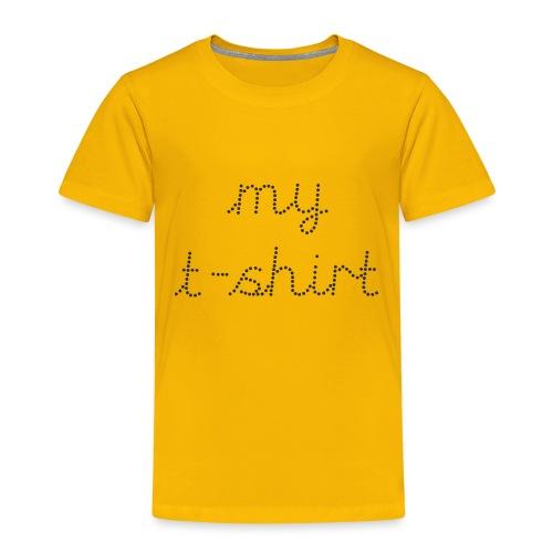my t-shirt black - Kids' Premium T-Shirt