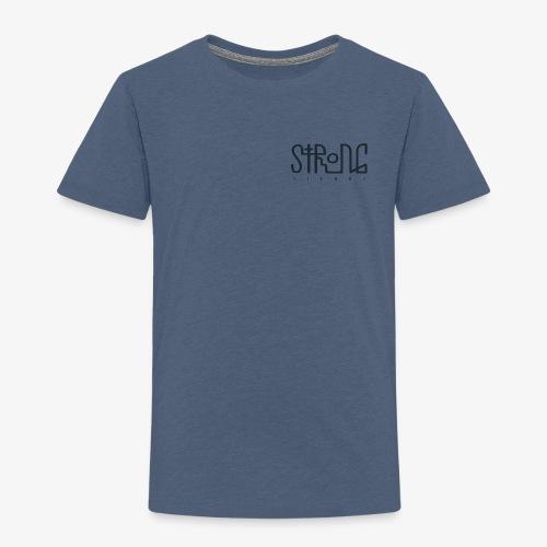 strong vienna logo dunkel trans png - Kids' Premium T-Shirt