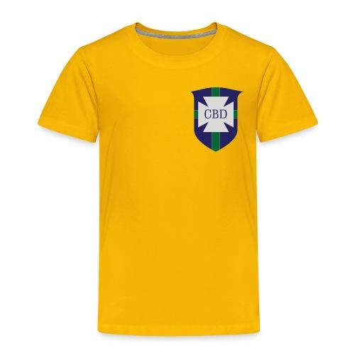 Mondiali di calcio 1970 celebrativa Brasile - Maglietta Premium per bambini