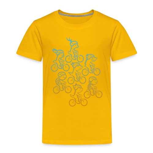 Manada ciclista - Camiseta premium niño