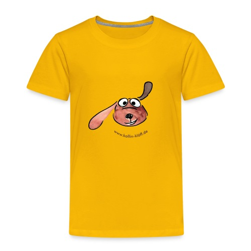 Kollin Kläff - Hunde Hauptfigur - Kinder Premium T-Shirt