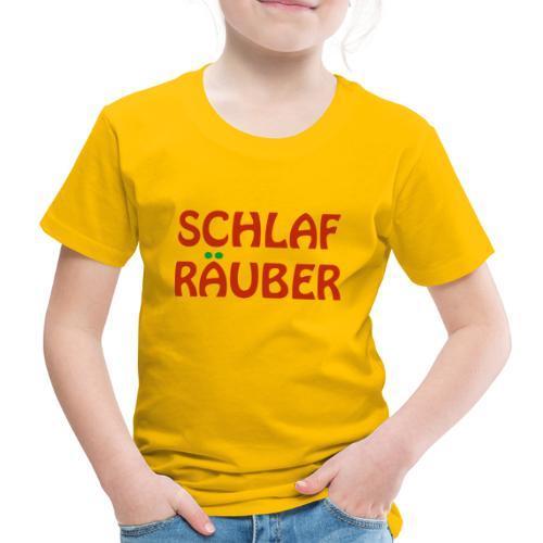 Schlafraeuber Baby Body Girl Schlaf Kid Mädchen - Kinder Premium T-Shirt