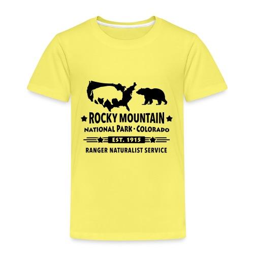 Rocky Mountain Nationalpark Berg Bison Grizzly Bär - Kids' Premium T-Shirt