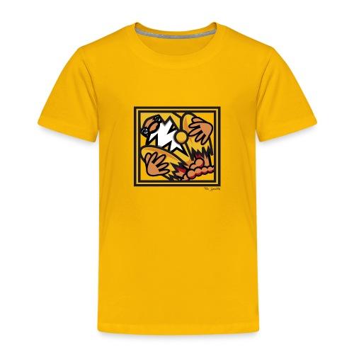 SANTA CLAUS GELB - Kinder Premium T-Shirt