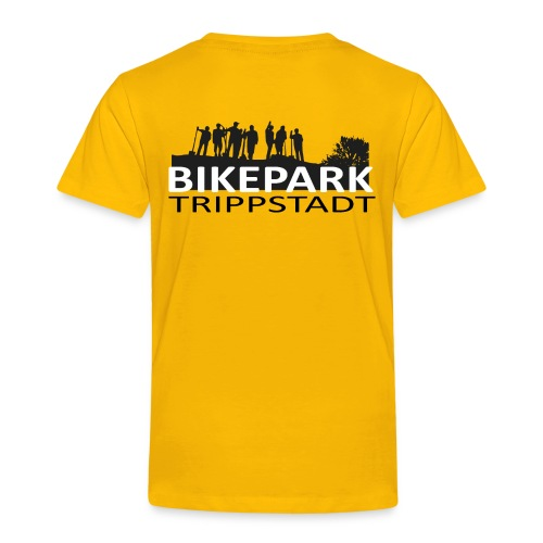 Bikepark staff in schwarz - Kinder Premium T-Shirt