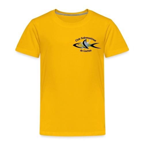 CSC Logo v2 text png - T-shirt Premium Enfant