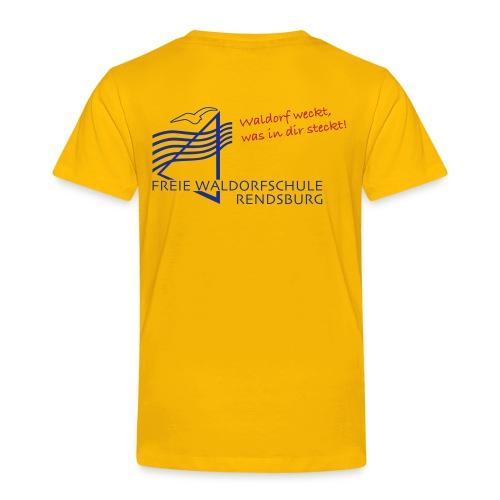 Logo blau rot - Kinder Premium T-Shirt