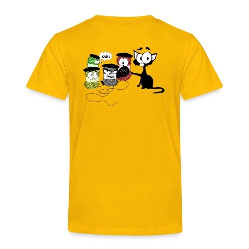 allpeloteandcat png - T-shirt Premium Enfant