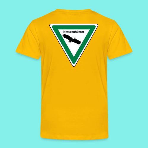 Naturschützer - Design-Farbe wählbar - Kinder Premium T-Shirt