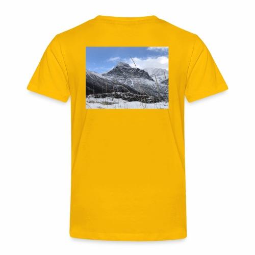 Vinter Brennviksanden - Premium T-skjorte for barn