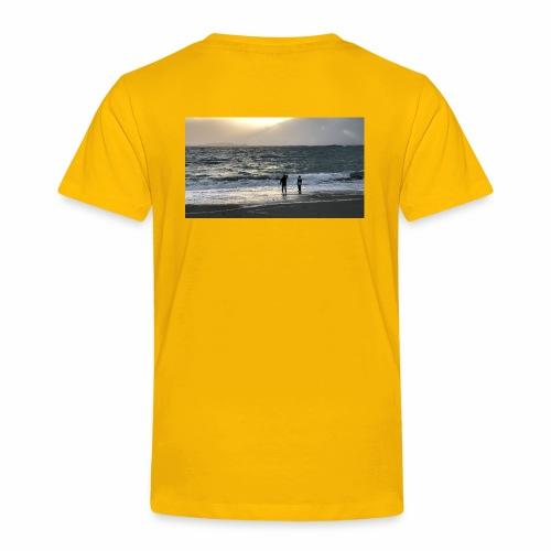 Silsanden i uvær - Premium T-skjorte for barn