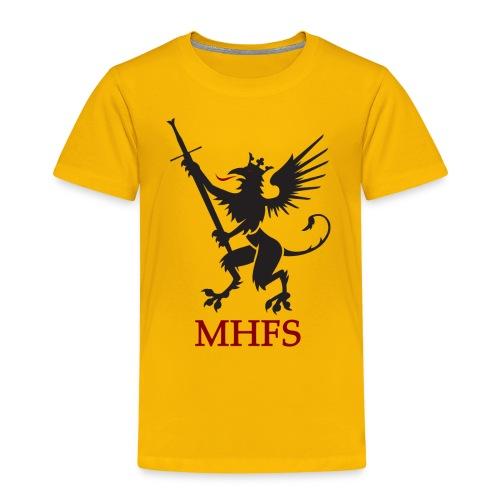MHFS Logga Pixel png - Premium-T-shirt barn