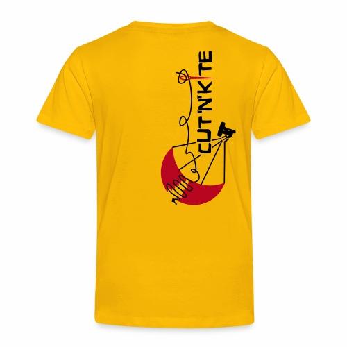 CuT n KiTe - Maglietta Premium per bambini