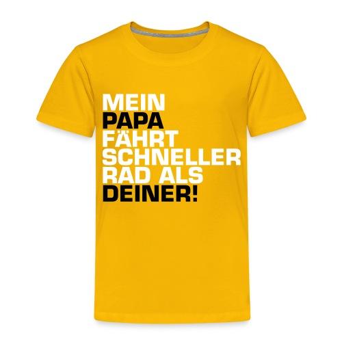 mein und dein Papa - Kinder Premium T-Shirt