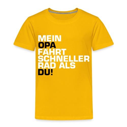 opa - Kinder Premium T-Shirt