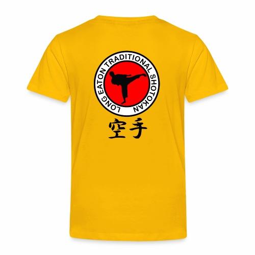 long eaton traditional shotokan - Kids' Premium T-Shirt