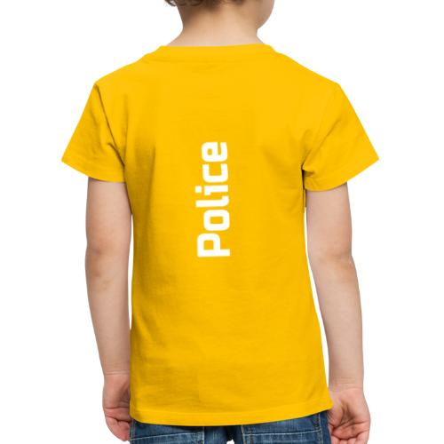 Police simple vertical - T-shirt Premium Enfant