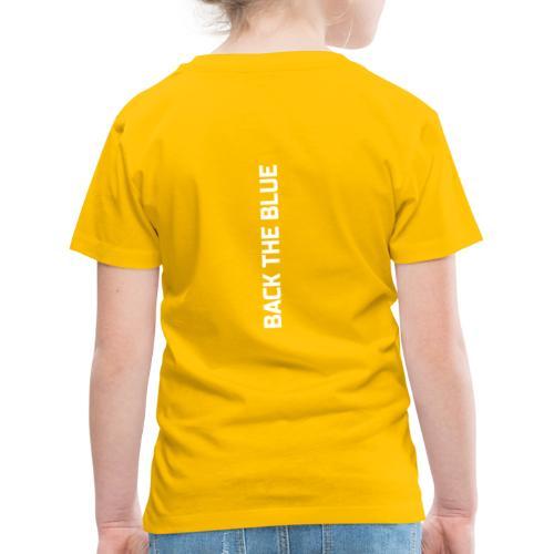 Back the Blue vertical - T-shirt Premium Enfant