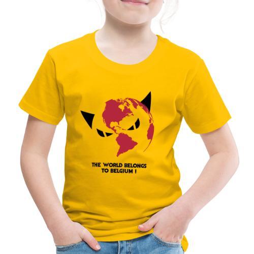 world - T-shirt Premium Enfant