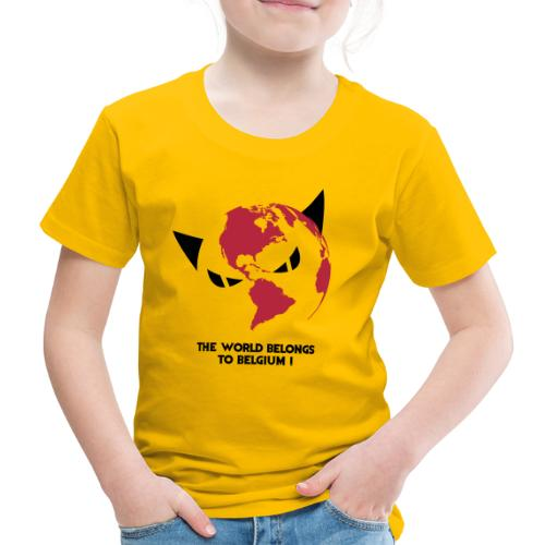 world - T-shirt Premium Enfant
