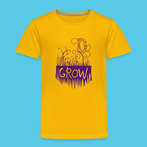 Grow Karabiner - Kinder Premium T-Shirt
