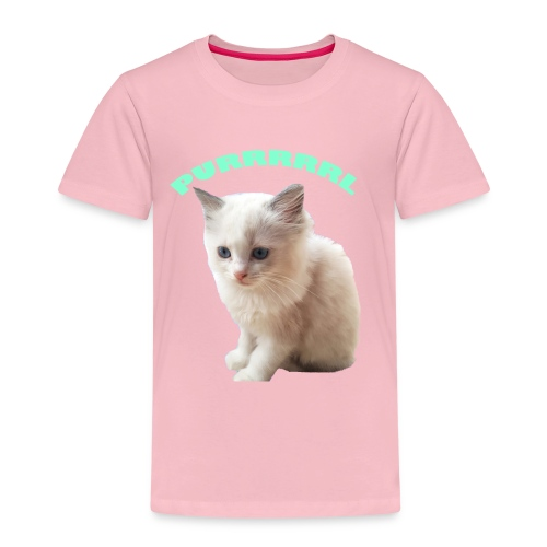 Purrrrrl - Kids' Premium T-Shirt