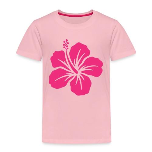 Camisetas, blusas, forros celulares de flor rosada - Camiseta premium niño