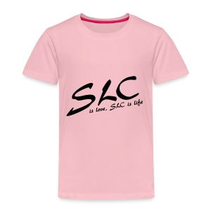 SLC is Love, SLC is Life - Kinderen Premium T-shirt